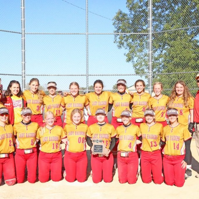 The North Shelby Lady Raiders lost to Canton in the Class 1 District 9 Championship game Saturday, October 16. The last appearance in a District Championship game was in 2015. North Shelby ended their season 16-8. Pictured above is the team. Front row, from the left: Marissa McEwen, Chesnie Robbins, Riley Stoneburner, Zoe Barrick, Jaylea Barrick, Ceairra Kirby, Emme Jones and Aliza Yoder. Back row, from the left: Asst. Coach Amanda Cook, manager Alexa Mesmer, Natalie Thrasher, Addy Uhlmeyer, Meg Shively, Whitney Snow, Ava Williams, Caroline Linberger, Andi Belt, Sadie Copenhaver and head coach Donny Williams. Photograph by Marlana Smith.